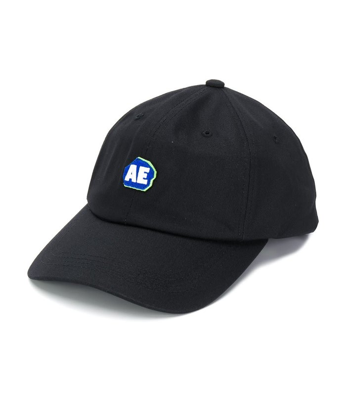STONE LOGO CAP BLACK