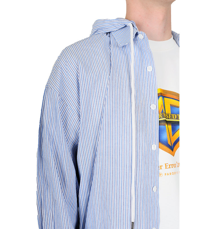 CHUCK STRIPE SHIRT BLUE