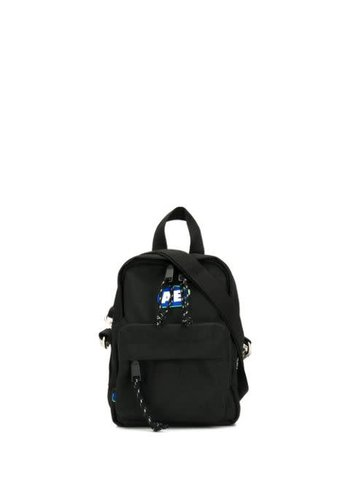 ADER ERROR stone logo mini backpack black
