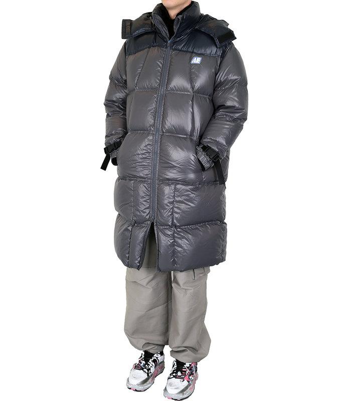 AE PUFFER COAT BLACK