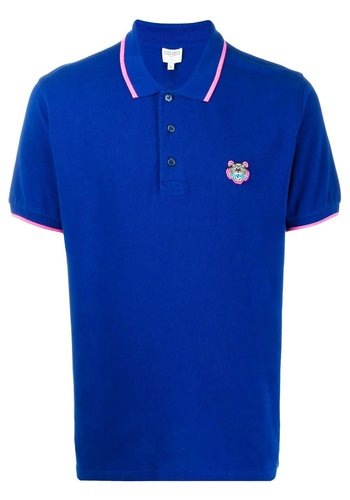 KENZO tiger polo french blue