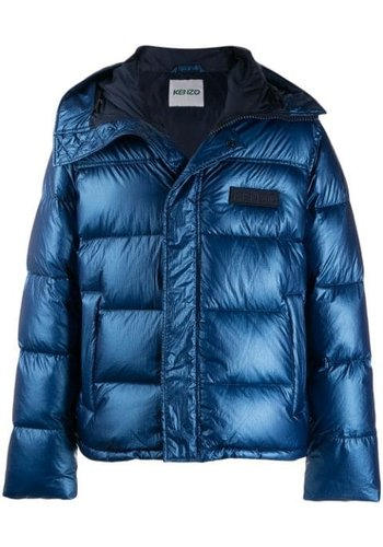 KENZO puffer jacket french blue