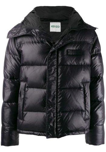 KENZO puffer jacket black