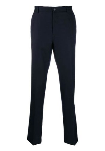 KENZO straight trousers midnight blue