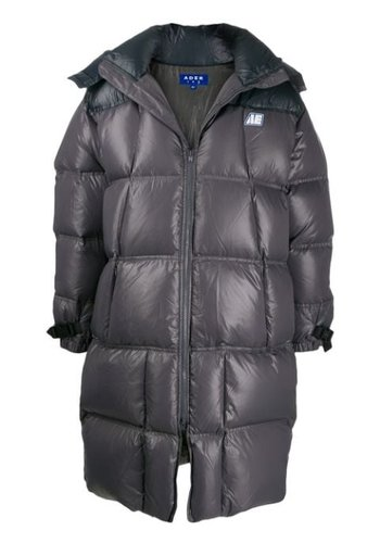 ADER ERROR ae puffer coat black
