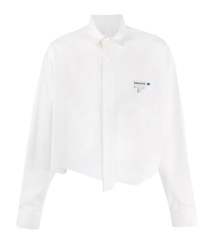 TAILLABLE CROP SHIRT WHITE