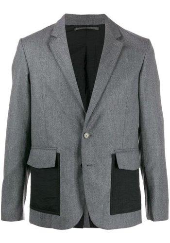 KENZO wool jacket grey