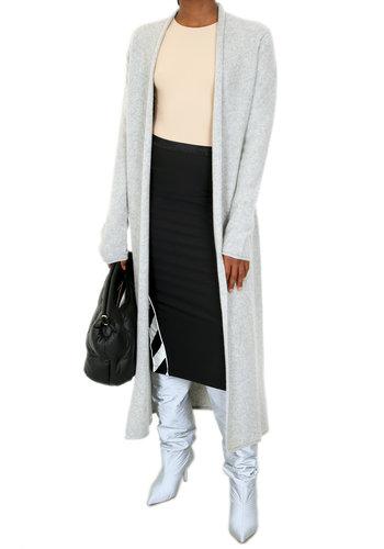 SO GOOD TO WEAR montreal maxi shawl cardigan oxford