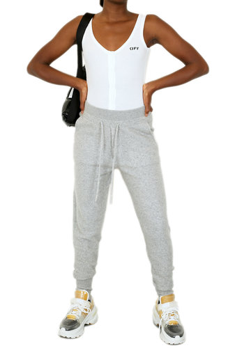 SO GOOD TO WEAR keith felted track pant oxford