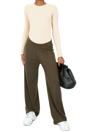 SO GOOD TO WEAR talsi wide trousers beluga