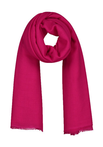 SO GOOD TO WEAR lisbon woven scarf square hot pink