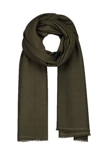 SO GOOD TO WEAR lisbon woven scarf square beluga