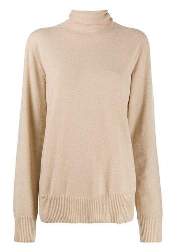 MAISON MARGIELA turtleneck knit beige