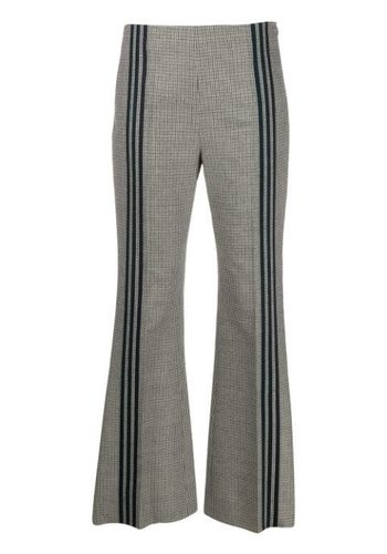 MAISON MARGIELA wool houndstooth trousers
