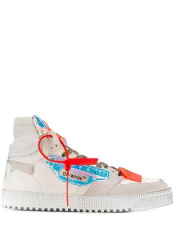 OFF-WHITE off court sneaker white iridescente