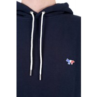 TRICOLOR FOX PATCH HOODIE NAVY
