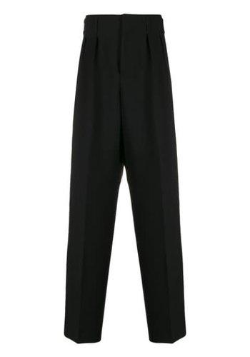 MAISON KITSUNE pleated pants black