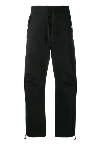 MAISON KITSUNE elasticaded pants black