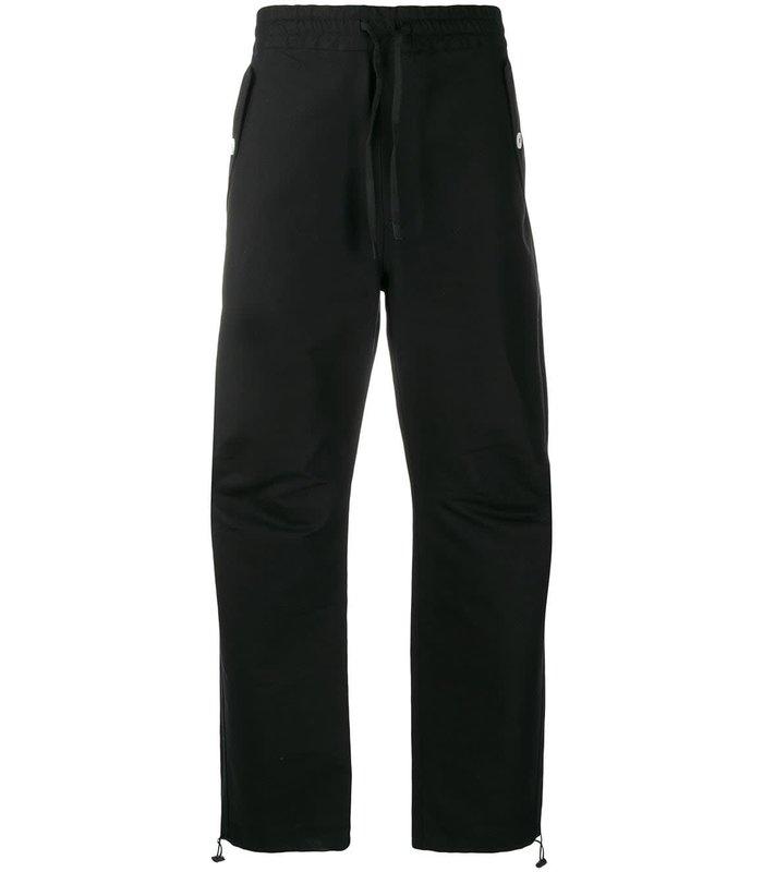 ELASTICATED PANTS BLACK