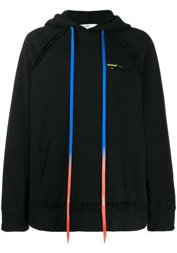 OFF-WHITE acrylic arrows incomp hoodie black yellow