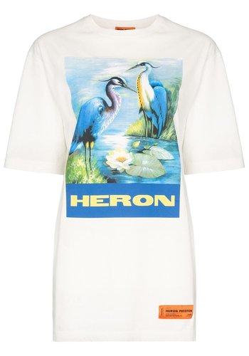 HERON PRESTON over tshirt ss permanent off white multicolor