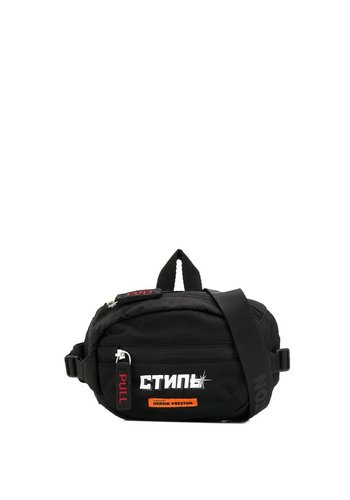 HERON PRESTON mini fanny pack стиль black white