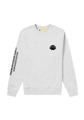 NEW AMSTERDAM SURFASSOCIATION logo sweat ash