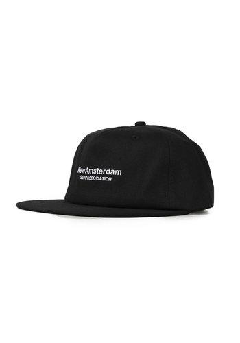 NEW AMSTERDAM SURFASSOCIATION logo cap black
