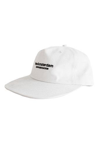 NEW AMSTERDAM SURFASSOCIATION logo cap white