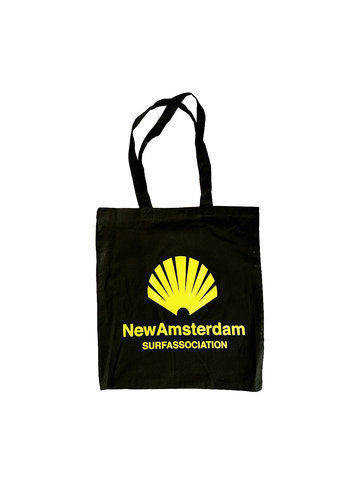 NEW AMSTERDAM SURFASSOCIATION NEW AMSTERDAM SURF ASSOCIATION TOTE BAG