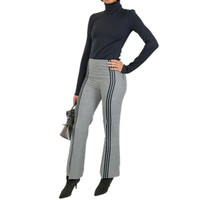 WOOL HOUNDSTOOTH TROUSERS