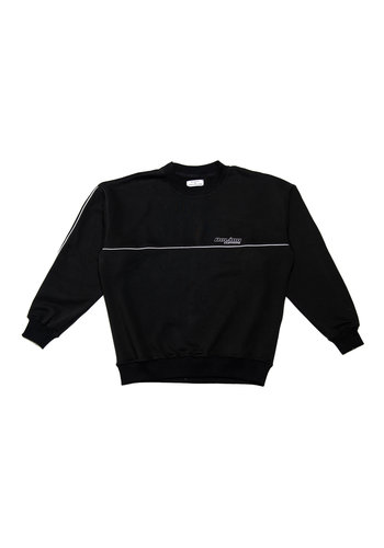 ROLANN lined sweater black