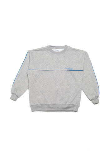 ROLANN lined sweater grey