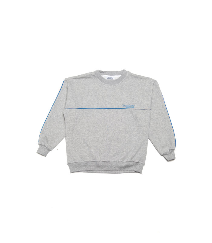 LINED SWEATER GREY