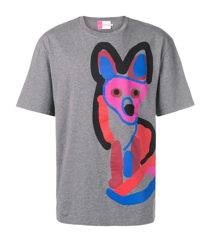 T-SHIRT ACIDE FOX PRINT