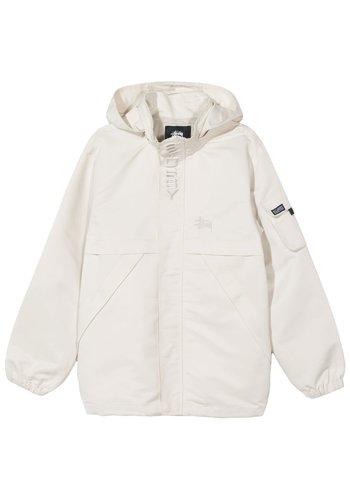 STUSSY terrain tech jacket cream