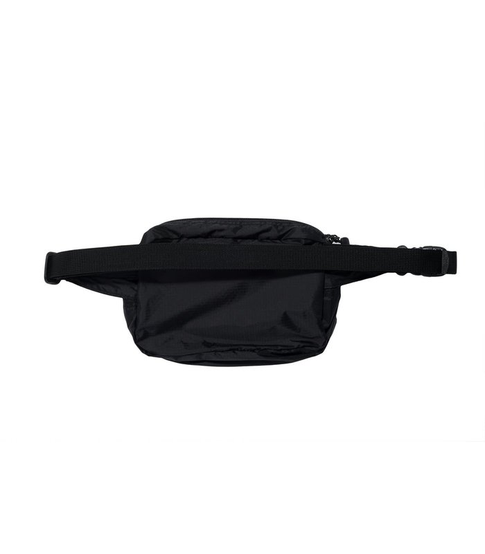 LIGHT WEIGHT WAIST BAG BLACK