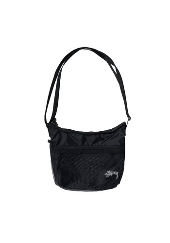 STUSSY light weight shoulder bag black