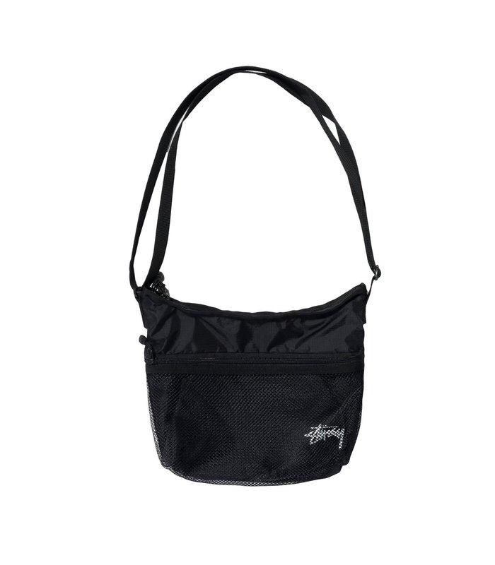 LIGHT WEIGHT SHOULDER BAG BLACK