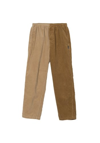 STUSSY mix up cord beach pant brown