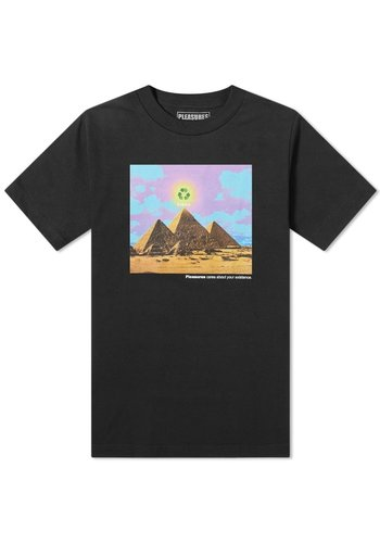 PLEASURES karma t-shirt black