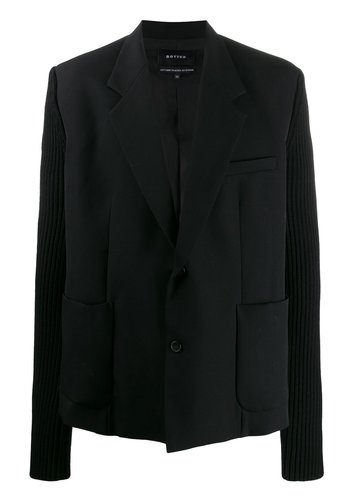 BOTTER blazer with knit sleeves