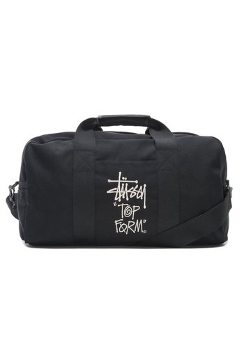 STUSSY top canvas tool bag black