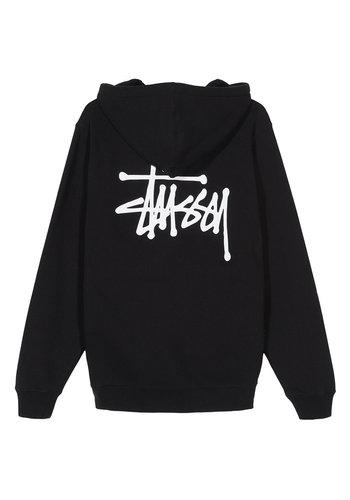STUSSY basic stussy hood black