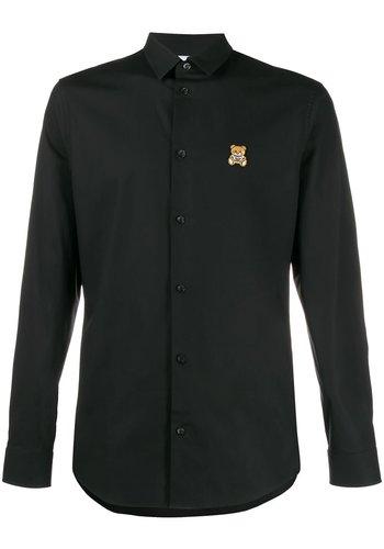 MOSCHINO blouse fantasy print black
