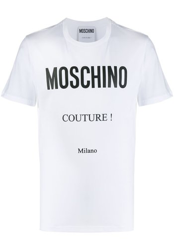 MOSCHINO t-shirt fantasy print white 2.0