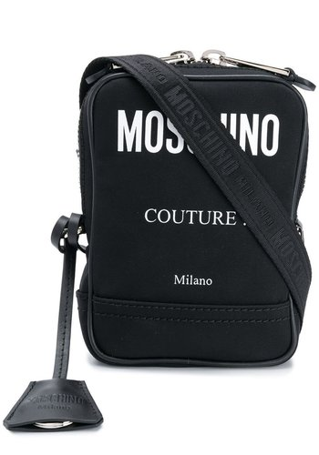 MOSCHINO crossbody black