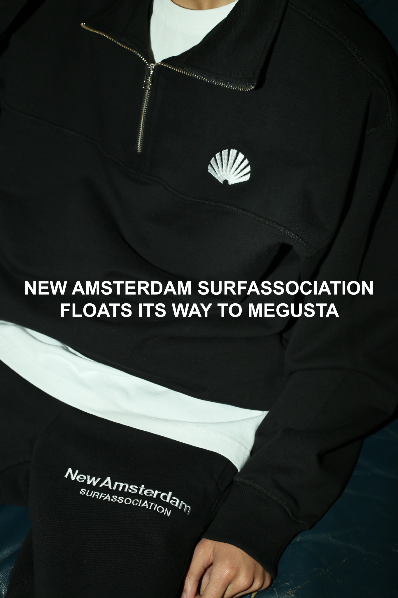 NEW AMSTERDAM SURFASSOCIATION FLOATS ITS WAY TO MEGUSTA