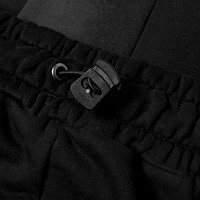SNAP FRONT PANT BLACK