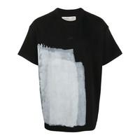 BLOCK PAINTED T-SHIRT BLACK